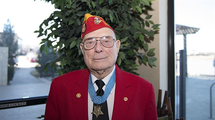 "Medal of Honor Recipient Hershel ""Woody"" Williams"
