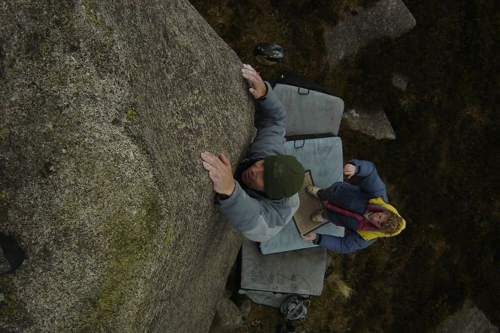 Bouldering in the Mournes