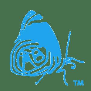butterfly new blue logo