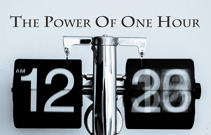 The Power Of One Hour!