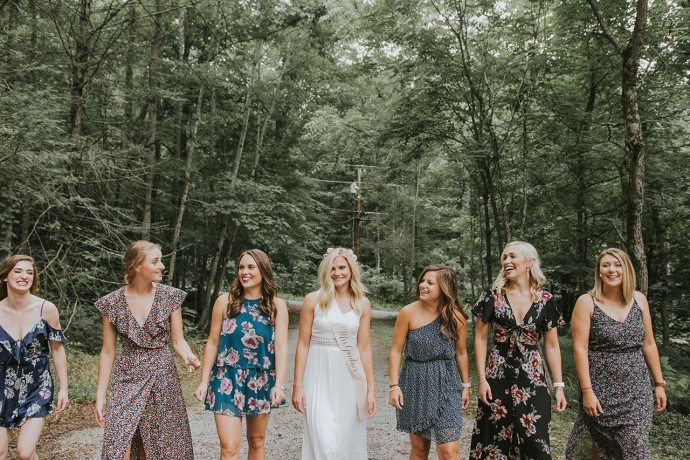 Bachelorette Party In The Mountains Gatlinburg Photographers