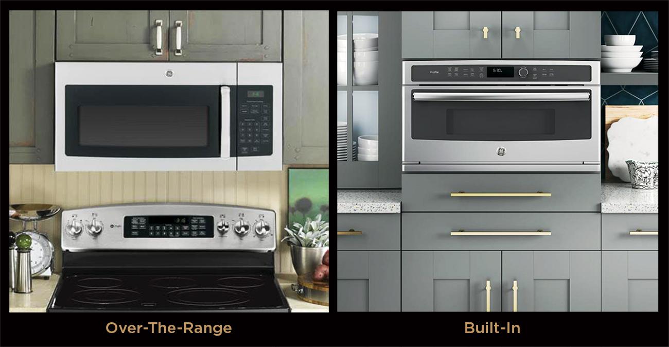 vs over the range microwave ovens