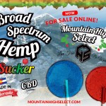 Mountain High Suckers Launches CBD Brand: Mountain High Select