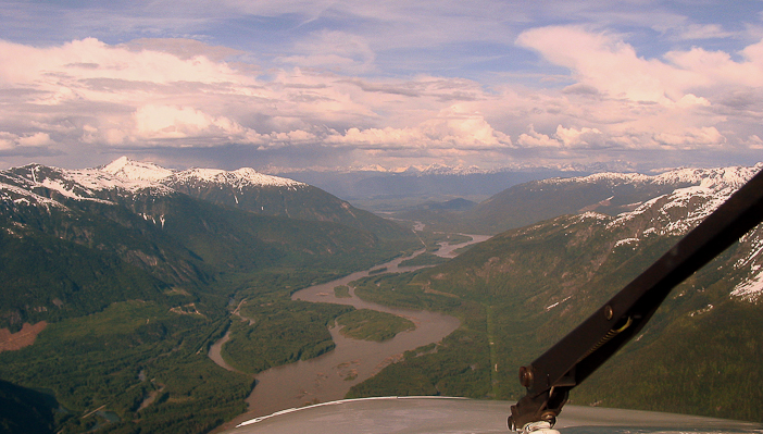 The Skeena River, BC.