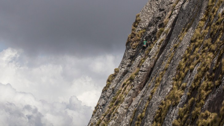 Lost Mountain Film Project, Majka Burhardt, Kate Rutherford climbing, science, Mt. Namuli