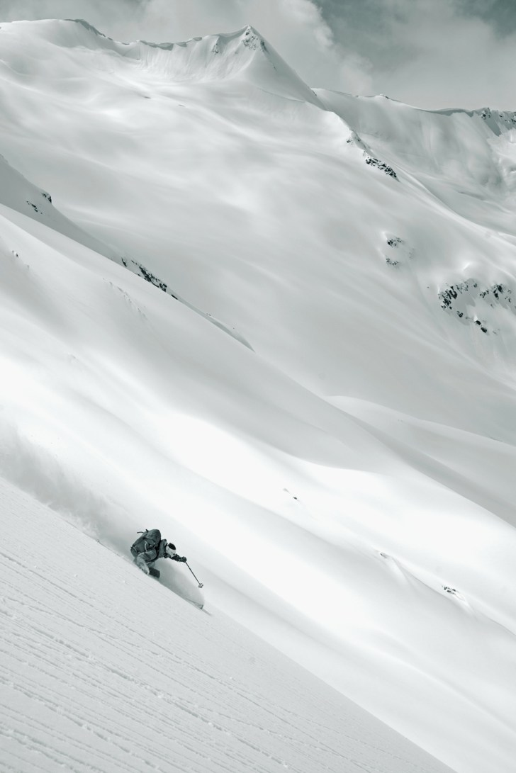 Next to resident grizzlies, backcountry skiers stand to lose the most from development.Chad Sayers