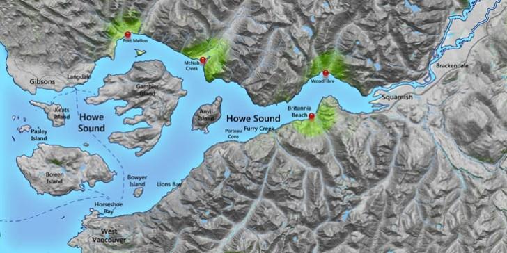 Howe Sound Major Industrial Proposals