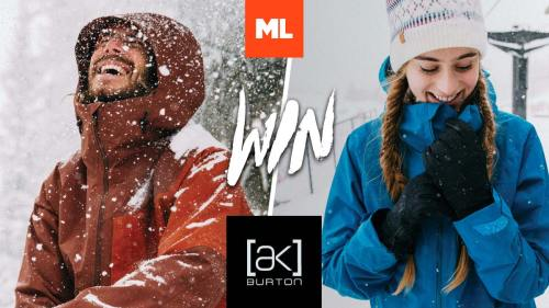 mountain life media win burton ak jacket best in snow contest