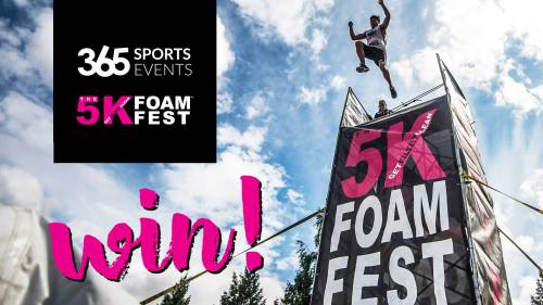 mountain life win tickets 5k foam fest sun peaks
