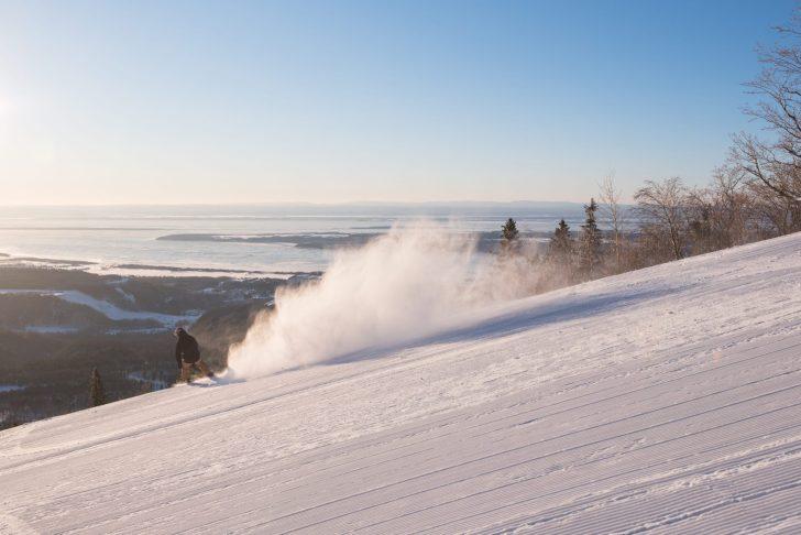 Mont Sainte-Anne near Quebec City. Photos: Gagnon, Francis