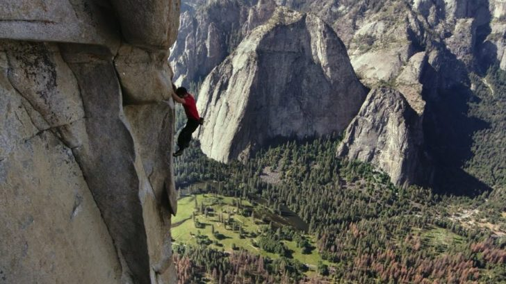 Alex Honnold Soloing Freerider on El Cap