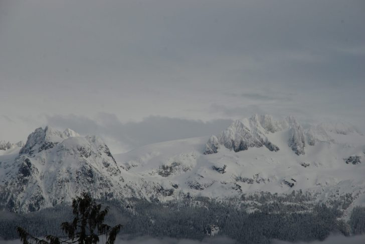 View of the mountains
