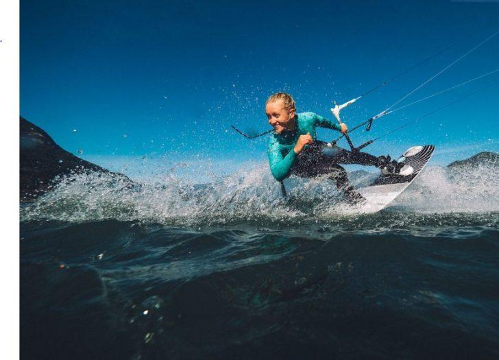 Lauren Holam Kiteboarding