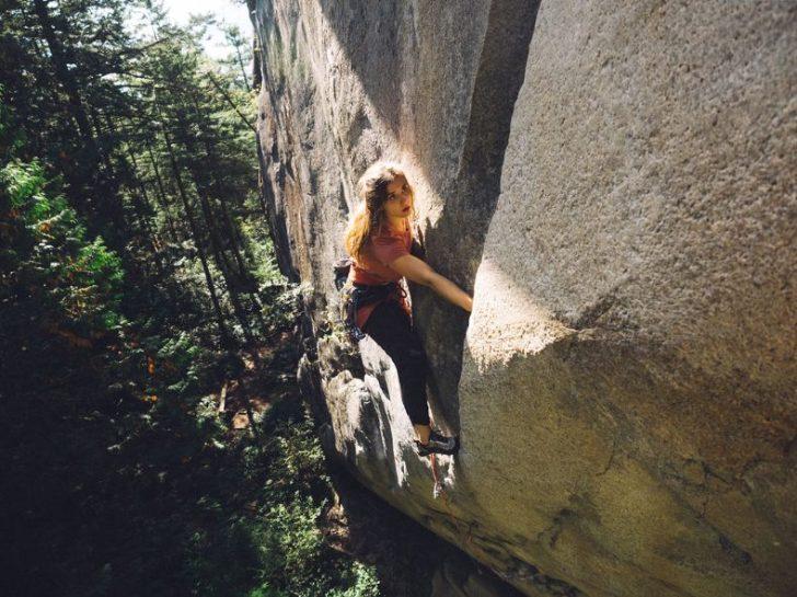 Heather Lightfoot Climbing