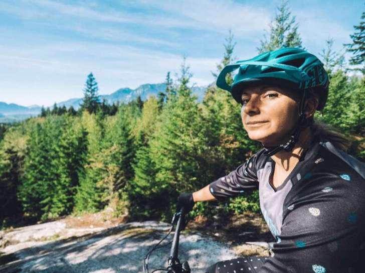 Veronika Voracek Biker