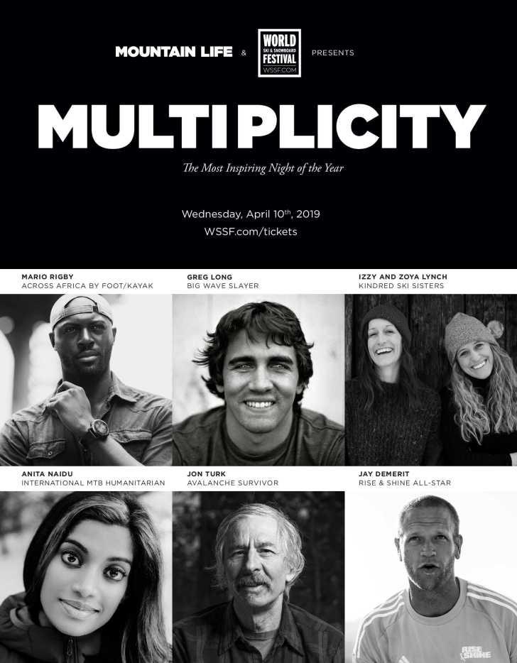 Multiplicity 2019