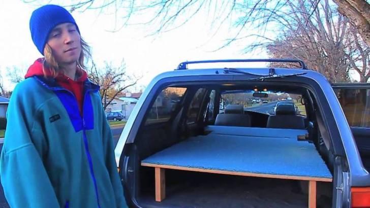 Ski Bum with Van
