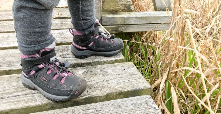 KEEN Kids' Targhee Waterproof Hiking Boot reviewed by Mountain Life Media