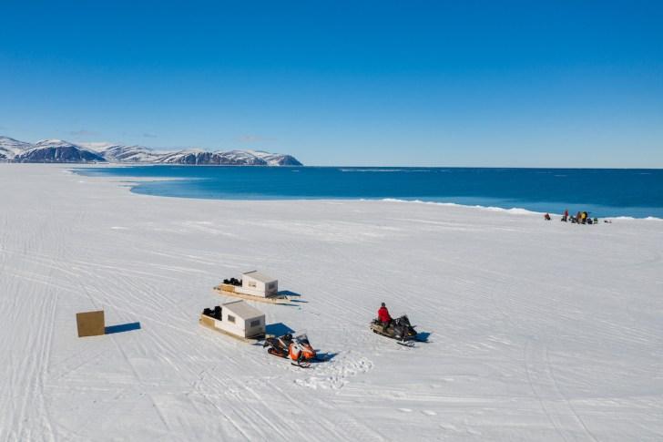 Floe-State-Camping-on-Nunavut-Ice-Colin-Field-qamutik