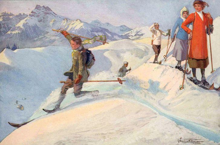 Goodbye-Telemark-The-Telemark-Turn-EFBenson-1914