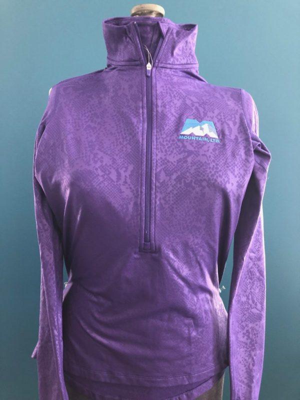Purple Women's Athletic Jacket