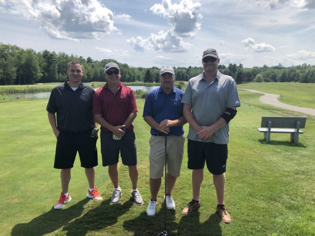 Golf Group 2 at the ITPA Tournament