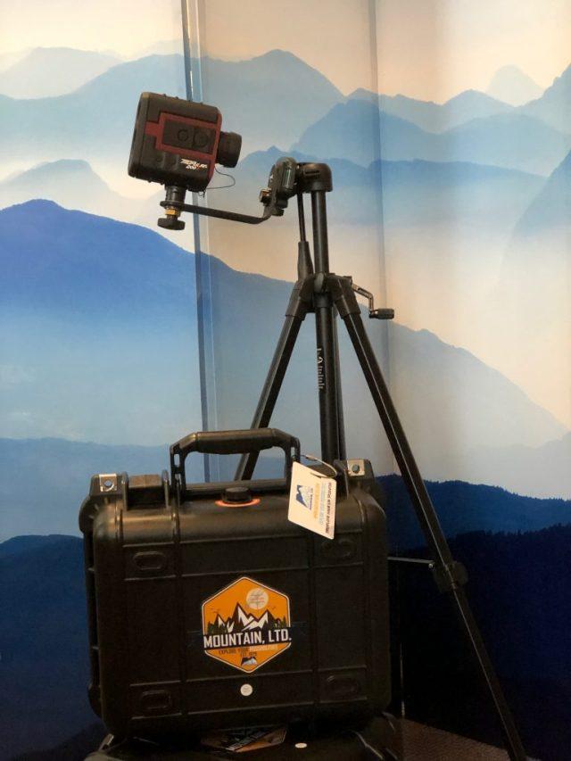 TruPulse 200X Laser Rangefinder in the MOUNTAIN office