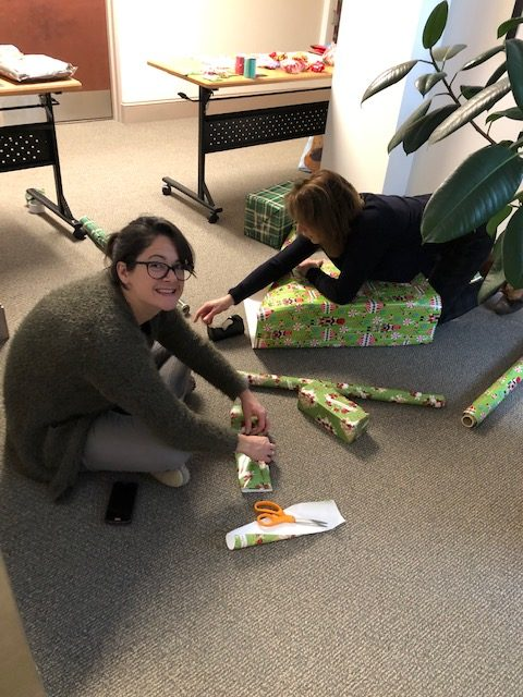 Cassandra Hutchinson Wrapping Gifts