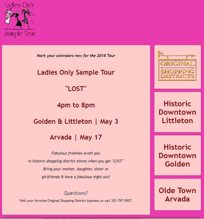 LOST Ladies Only Sample Tour