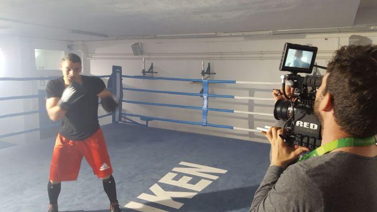 Boxer Videodreh