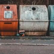 polypropylene plastic recycle bins