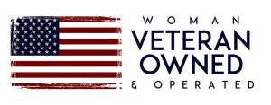 Woman Veteran Owned & Operated Small Business logo
