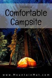 Creating a Comfortable Campsite