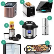Pinterest PIN for blogpost Mountain Mat 15 Small Appliances you need for your camper