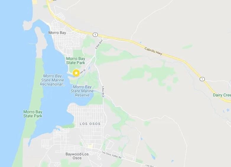 morro bay map