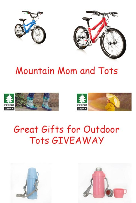 Great Gifts for Outdoor Tots GIVEAWAY