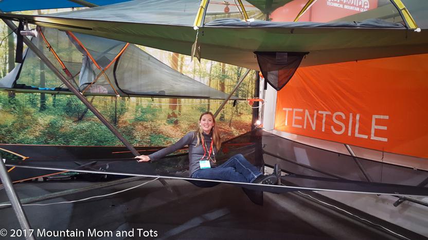 Tentsile elevated tent