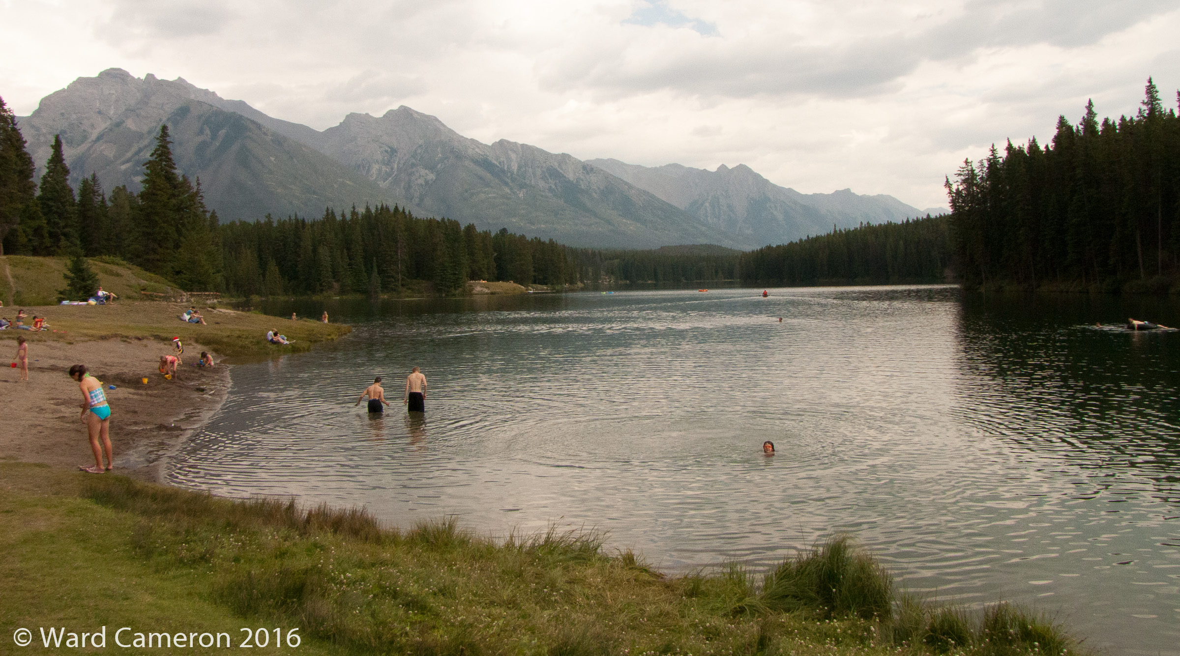Photo of Johnson Lake in Banff National Park
