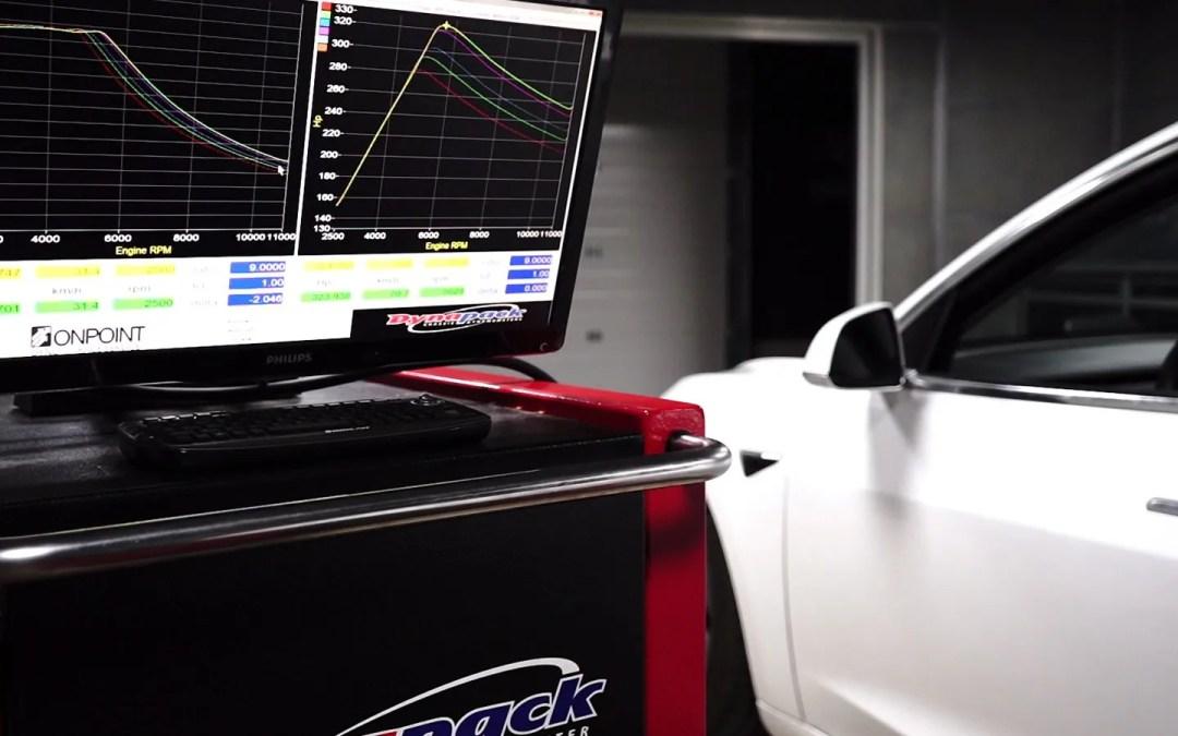 Tesla Model 3 Dyno Testing At Various SOC