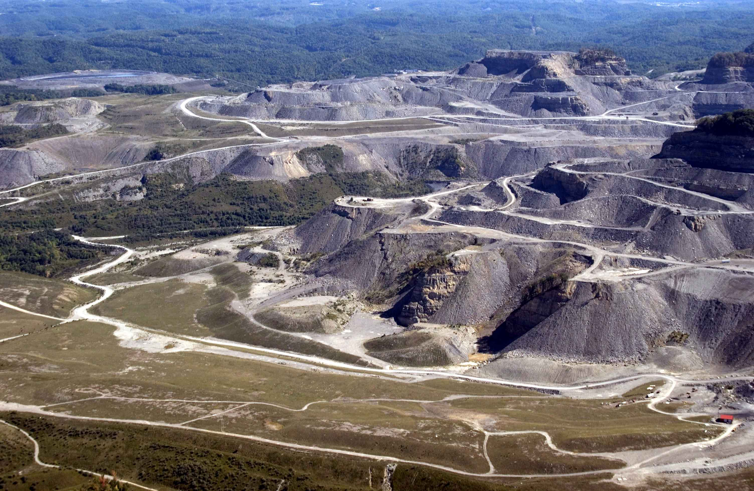 Image result for mountaintop removal mining