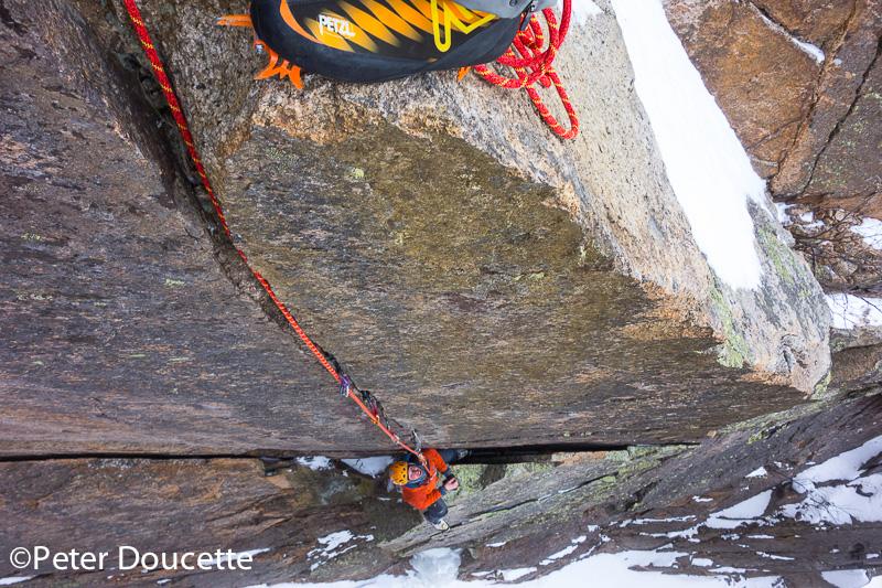 Mixed Climbing in Crawford Notch