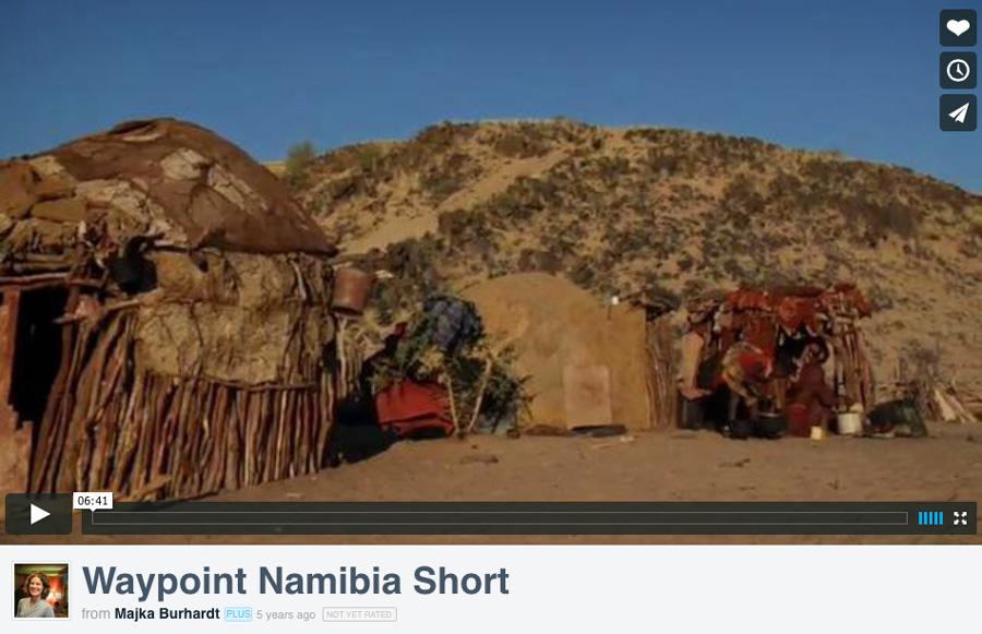 WayPoint Namibia Short Film