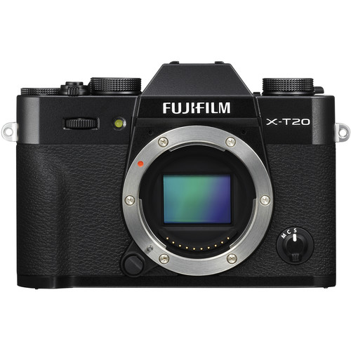 fujfilm xt20 mirrorless camera