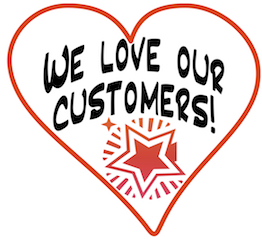 We Love Our Customers!