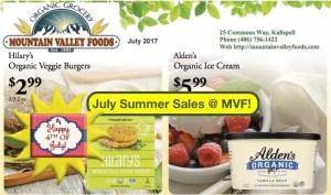 July Sales @ MVF