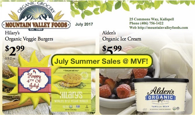 💥 July  Sun & Sales @ Mountain Valley Foods! 🍉