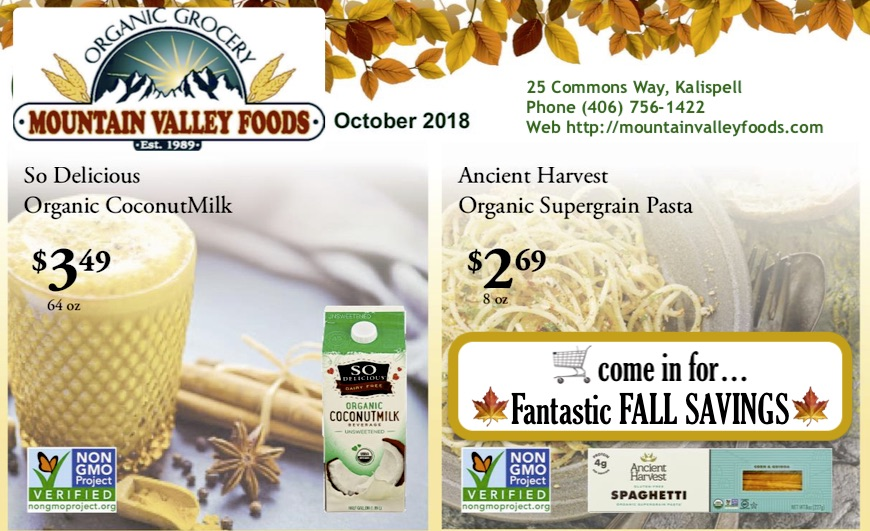 🍁 Fall Savings @ Mountain Valley! 🥦