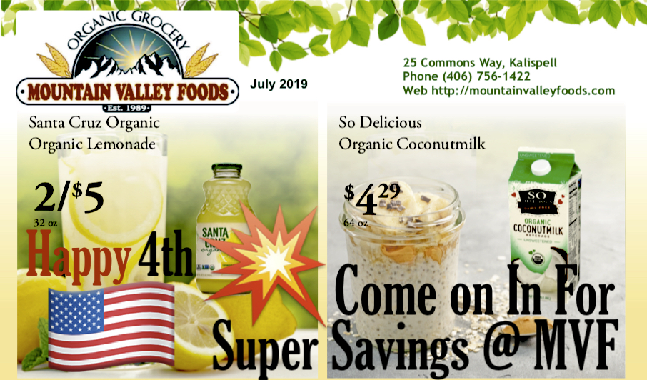 🎆 SUPER Savings in July @ MVF! 🍉