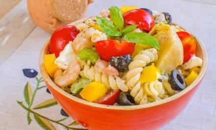 You Top It Off Shrimp and Pasta Salad