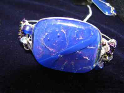Dichroic Glass Bracelet
